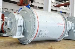 Шаровая мельница мокрого помола с центральной разгрузкой серии MQY