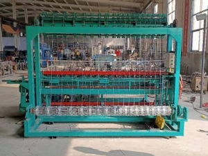 Станок для изготовления шарнирной сетки из проволоки XDM-2-2400