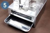 Автоматический станок для производства стружки твердых пищевых продуктов