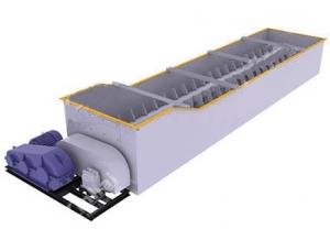 Cпиральный лотковый скруббер серии CXK