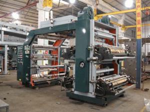 Полноцветная флексографическая печатная машина WN884