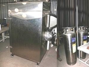 Холодильное оборудование шоковой заморозки