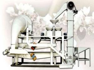 Оборудование для шелушения и сепарации гречихи TFQM400