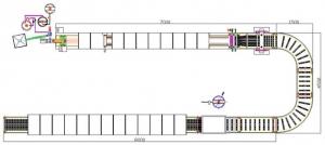 Схема линии производства батончиков мюсли