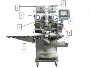 Формовочная машина для изготовления продуктов с начинкой ST-168