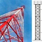 Мачта освещения или связи, высота 27 метров